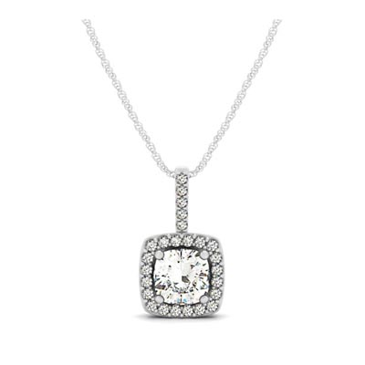 weight pendant yellow total cut gold round in brilliant diamond solitare set