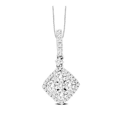 Diamond Fashion Pendant 5/8 Carat Total Weight