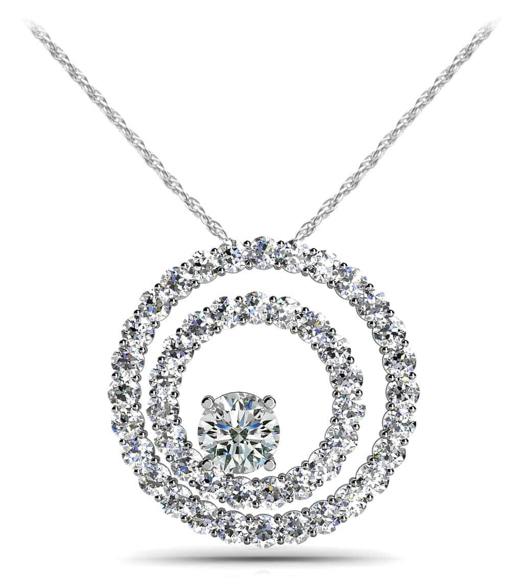 pendant ps ct kt weight diamond set gm gold