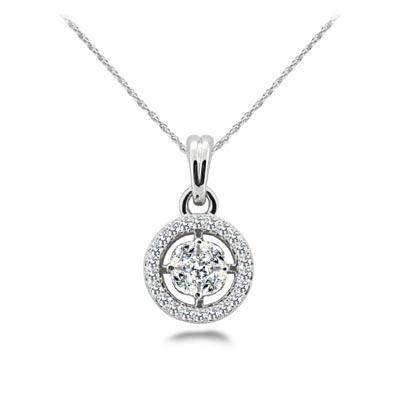 Five stone cluster halo diamond pendant sp28 usa jewels diamond designer pendant aloadofball Image collections