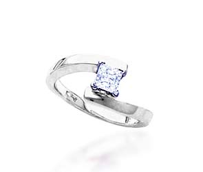 Princess Cut Bridal Engagement Ring