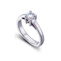 Bridal Engagement Ring 1/2 Carat Total Weight