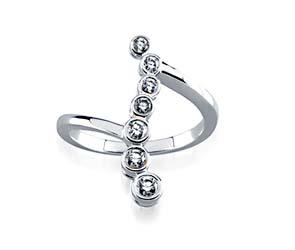 Journey Bubble Diamond Ring