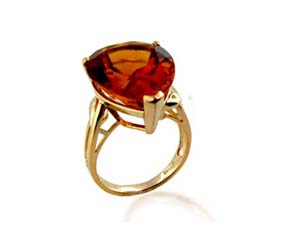 Citrine Ring<br> 15.3 Carat Total Weight