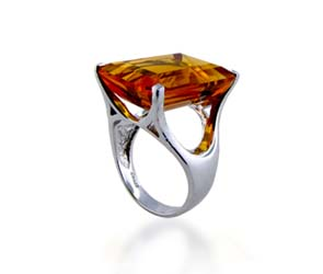 Citrine Ring<br> 19.9 Carat Total Weight