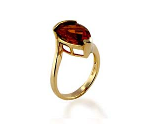 Citrine Ring<br> 4.0 Carat Total Weight