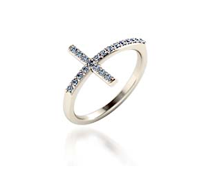 Christian Cross Style Ring