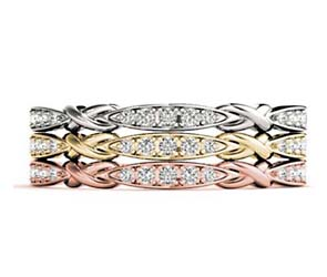 5 Stone Cluster Stackable Diamond Ring