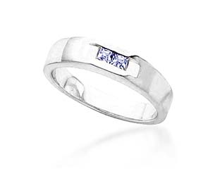 Men's 2 Stone Diamond Ring