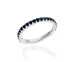 Eternity Sapphire Band