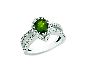 Emerald & Diamond Ring 1.75 Carat Total Weight
