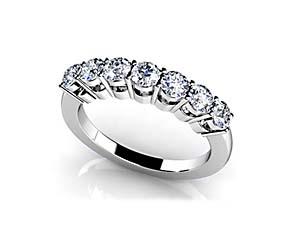 Classic 7 Stone Wedding/Anniversary Bang