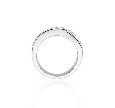 Journey Diamond Ring 0.45 Carat Total Weight