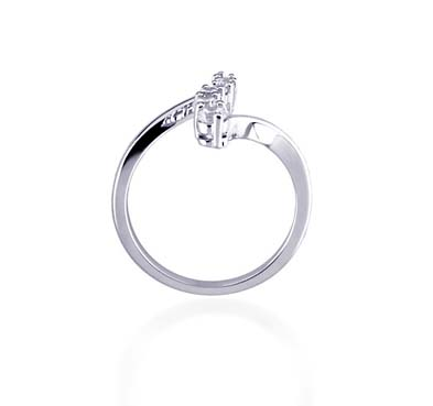 Journey Diamond Ring 1/3 Carat Total Weight