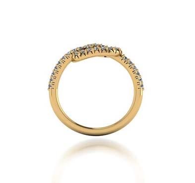 pretzel style promise ring 25489l usa jewels