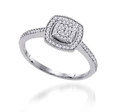 Diamond Fashion Ring 1/5 Carat Total Weight